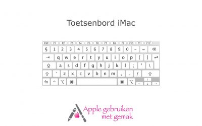 Toetsenbord iMac/MacBook 10.14