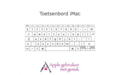 Toetsenbord iMac/MacBook 10.14