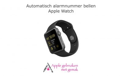 Automatisch alarmnummer bellen Apple Watch