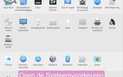 Voorkom malware op je Mac
