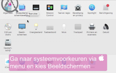 Night Shift op je mac