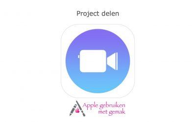 Deel je project